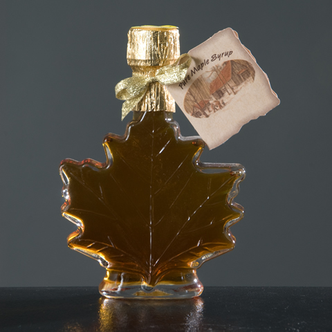 Maple Leaf Glass Bottles 3.4 oz.-0