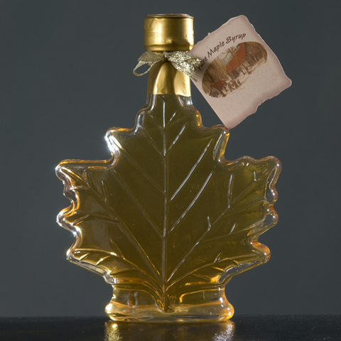Maple Leaf Glass Bottle 8.45 oz.-0
