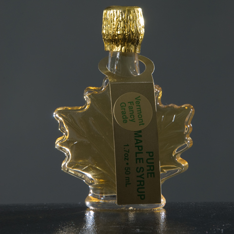 Maple Leaf Glass Bottles 1.7 oz.-7