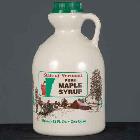 Quart Pure Vermont Maple Syrup-0