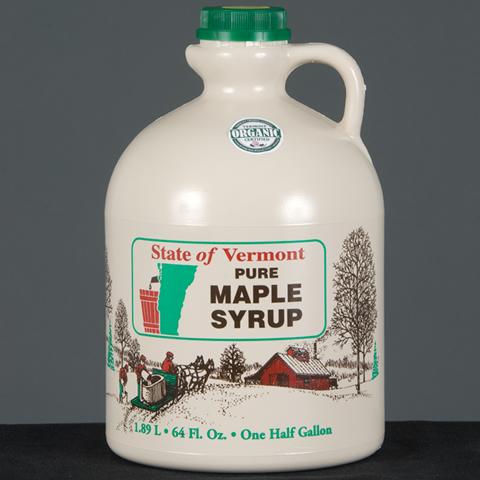 Half Gallon Pure Vermont Maple Syrup-0