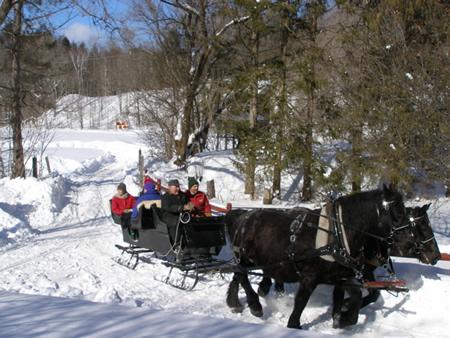 Sleigh Ride Vermont